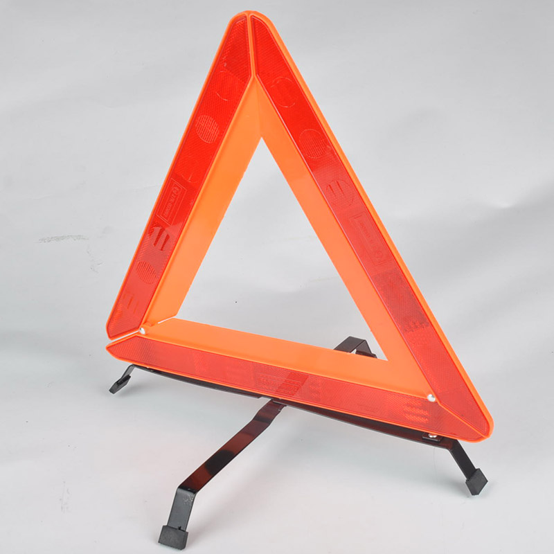 Car Reflective Emergency Warning Tripod Roadway Safety Parking Aircraft Foldable Warning Triangles Signs Y50*QP0043#C5(China (Mainland))