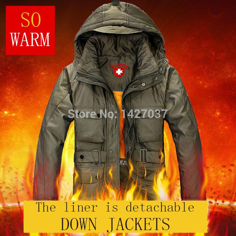 German Military Outdoor Winter Jacket Men Down-Jacket Long Thicken White Duck Down Coat Men Wellensteyn Jacket Parka Man S-XXXLОдежда и ак�е��уары<br><br><br>Aliexpress