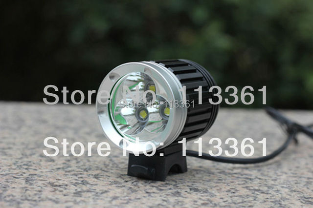 3x Cree XM-L XML T6 LED 3800 Lumens Superbright 4Mode Bicycle Light Cycle Bike Lamp HeadLamp Headlight + Battery Pack + Charger