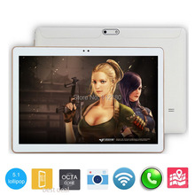 2017 New DHL Free 3G 4G Lte 10 inch Tablet PC Octa Core 4GB RAM 32GB ROM Dual SIM Cards Android 5.1 GPS Tablet PC 10 10.1 +Gifts(China (Mainland))