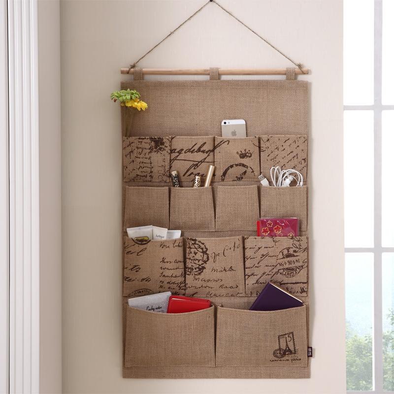 Панно на стену с кармашками