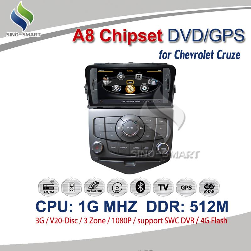 Автомобильный DVD плеер OEM 7' DVD GPS 3G 1G DDR 512M 4G /chevrolet Cruze 1080P автомобильный dvd плеер hansunda 7 dvd 3 2006 2010 3g gps rds buetooth 1080p ipod