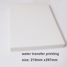 Free shipping 20pcs/set  Water Transfer Printing Film for Inkjet printer,A4size hydrographic film, decorative material(China (Mainland))