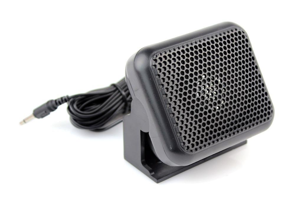 New CB Ham Radios Mini External Speaker NSP-100 For Kenwood Motorola ICOM Yaesu Walkie talkie J0076A(China (Mainland))