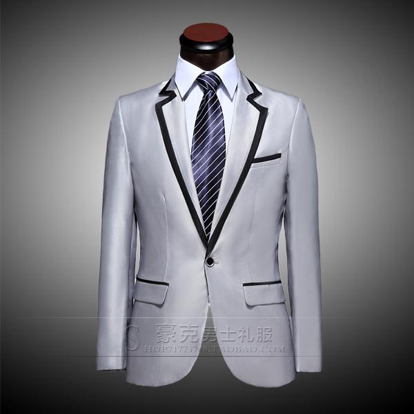 2015 studio tuxedo groom dress mens wedding suit men dress suits tuxedos for men (jacket + pants)Одежда и ак�е��уары<br><br><br>Aliexpress