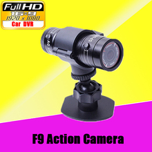 Mini F9 HD Bike Motorcycle Helmet Sports Action Camera Video DVR DV Camcorder