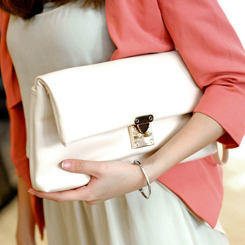new collection 2014 Fashion New Arrival clutch bag Splicing women messenger bags Day Clutches Shoulder Wedding Evening Bags(China (Mainland))
