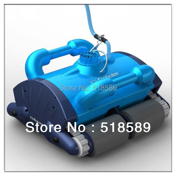 Free Shipping By Fedex In 7-10Days The Newest And Best Christmas Gift Automatic Swimming Pool Cleaner+Remote Controller+CE&ROHS(China (Mainland))