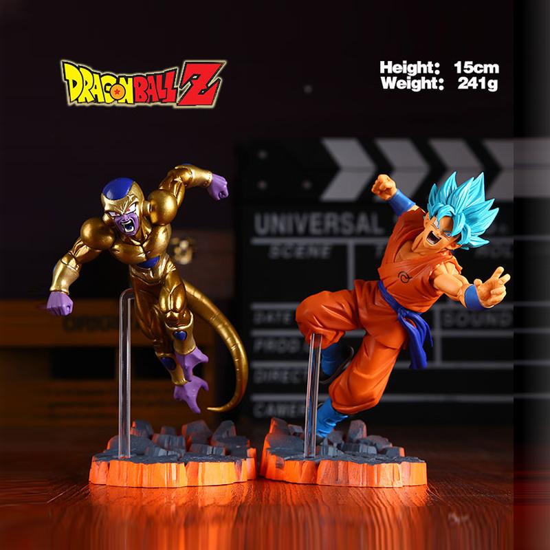 Dragonball Dragon Ball Z Super Saiyan Goku Son Freeza Freezer Ultimate Form Anime Combat Edition PVC Action Figure Toys(China (Mainland))