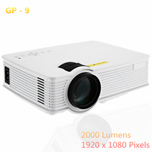 2016 New 2000 lumens Full HD 1080P Portable USB Cinema Home Theater Pico LCD LED Video Mini Projector Beamer Projetor Proyector(China (Mainland))