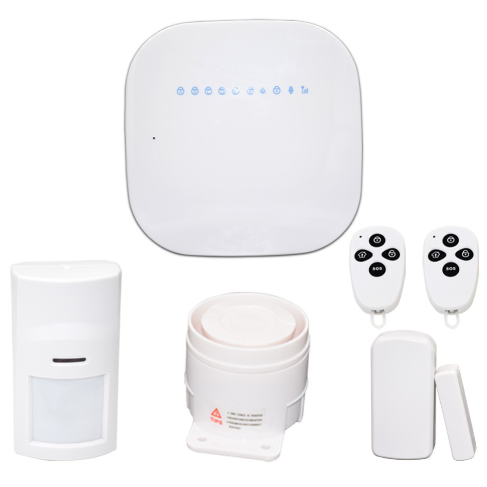 ERAY GS-M1 DIY Wireless GSM Burglar Alarm System with Android & IOS APP Remote Control for Home Safey(China (Mainland))