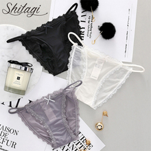 Buy Shitagi Lace Transparent Panties Women's Sexy Lace Panty Hollow Intimates Underpants low-Rise Female Underwear for $5.10 in AliExpress store