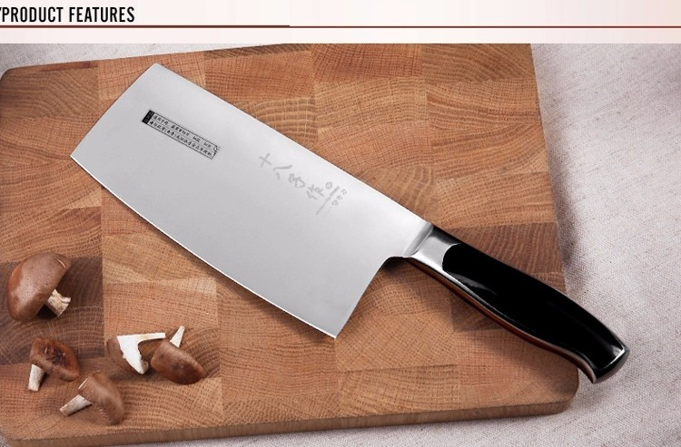 Buy Traditional carbon steel kitchen Accessories knives slicing /chop bone /cutting knife+Chef knives/ Utility Knives Chinese style cheap