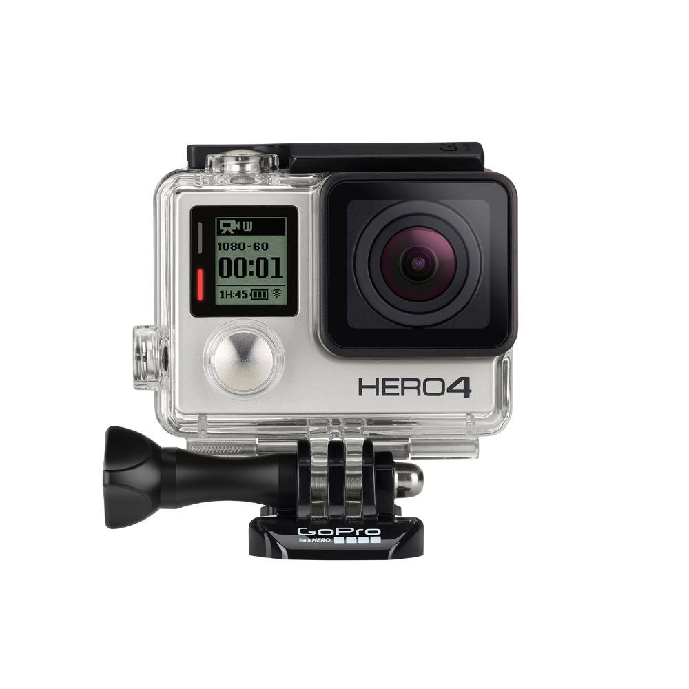 Original GoPro Hero4 Silver Edition Camera 4K 1080p 120fps full HD Waterproof Camera Surfing sports camera Free Shipping<br><br>Aliexpress