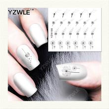 YZWLE 1 Sheet DIY Designer Water Transfer Nails Art Sticker / Nail Water Decals / Nail Stickers Accessories (YZW-168)(China (Mainland))