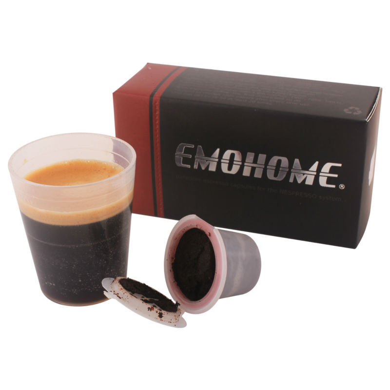 achetez en gros rechargeable nespresso capsules en ligne des grossistes rechargeable nespresso. Black Bedroom Furniture Sets. Home Design Ideas