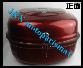 50cc 125cc 150cc Universal  motorcycle scooter trunk luggage top case hard tail box trunk tail box colors
