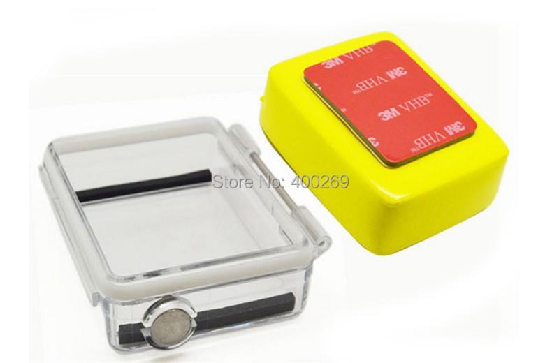 Accessories Go pro Hero 3 LCD Back door+Floaty Sponge for GoPro Hero3 GP243<br><br>Aliexpress