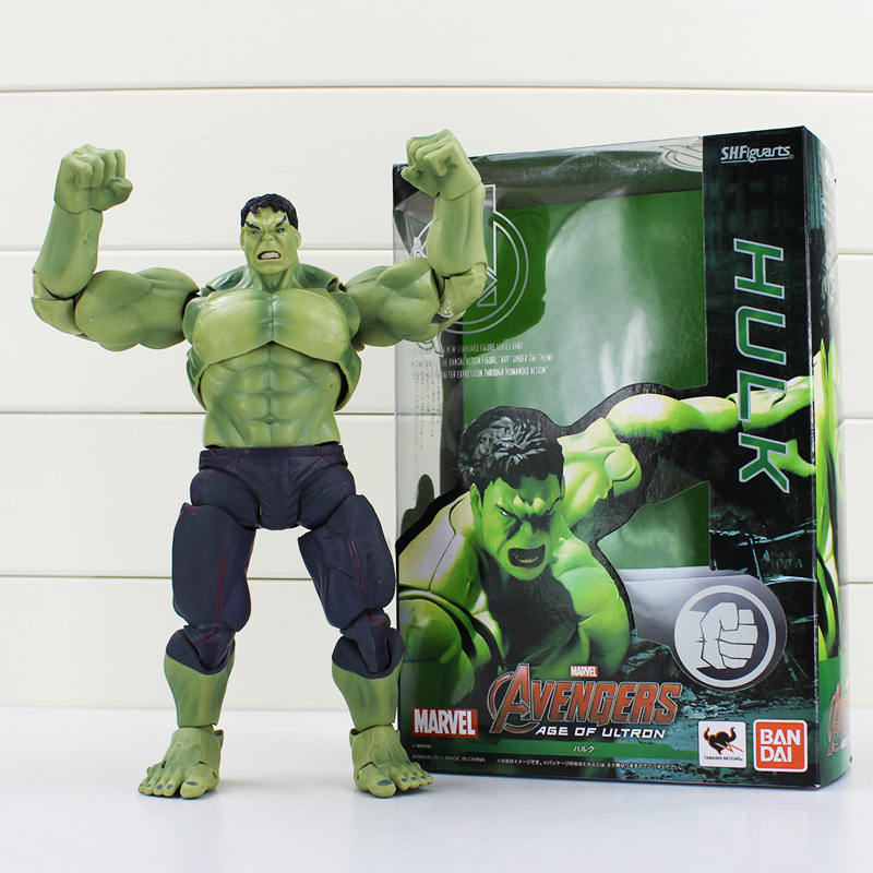 1Pcs 19cm The Avengers SHF S.H.Figuarts Hulk PVC Action Figure Toy Collectible Model Doll Toys Great Gift<br><br>Aliexpress