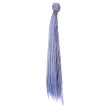 1pcs hair refires bjd hair 25cm*100CM black pink brown khaki white grey color long straight wig hair for 1/3 1/4 BJD diy(China (Mainland))