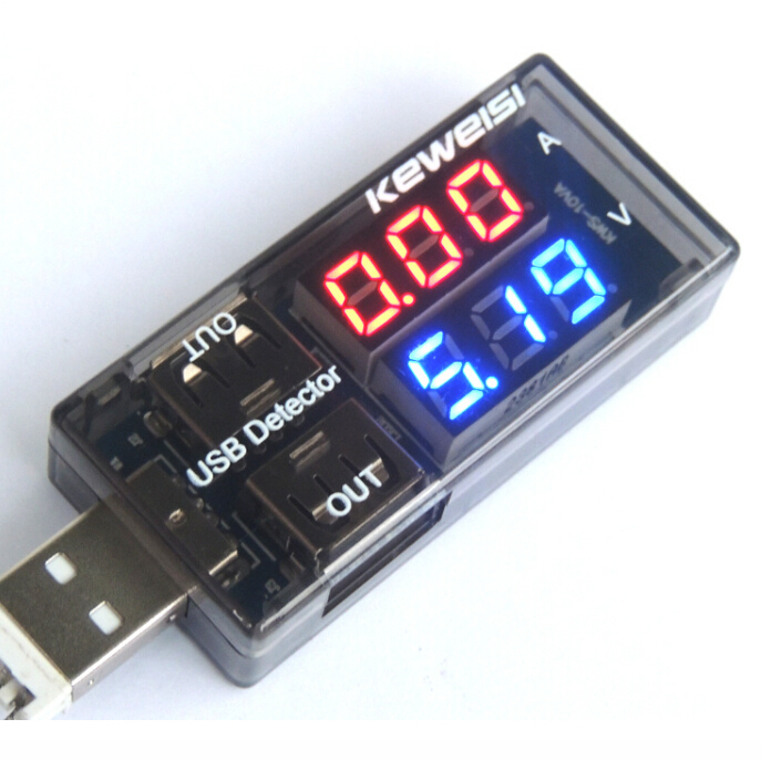 USB-Current-Voltage-Tester-Meter-USB-Voltage-Ammeter-USB-Detector-Double-Row-Shows-New