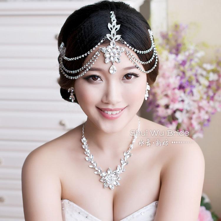 Wedding Hair Jewellery : Aliexpress buy free shipping luxury rhinestone