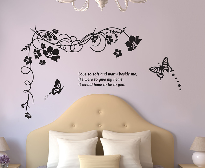 Hot pastoralism Gardens stickers for wall decoration stickers for kids chart kids wall stickers for wall decoration Home Decor(China (Mainland))