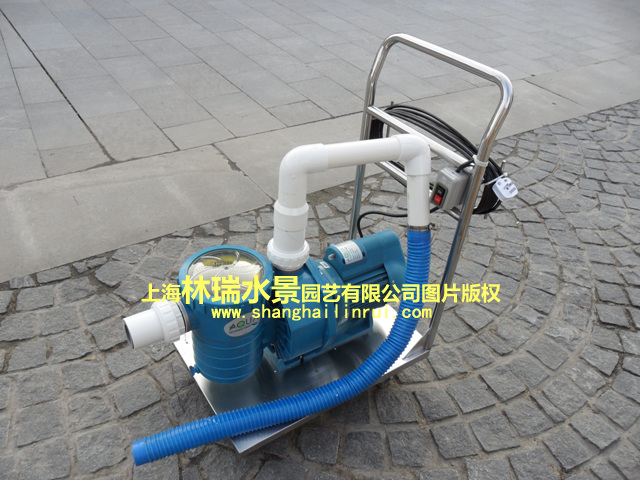 Swimming Pool Fish Pond Cleaning Machine Underwater Vacuum