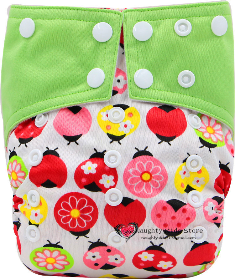 New arrival 1 pieces Naughty Kids happy cloth diaper cover cool baby cloth diaper modern design all in one size(China (Mainland))