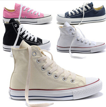 2015 New canvas shoes drop shipping men shoes star Low High unisex men sneakers women sneakers all size 35-44(China (Mainland))