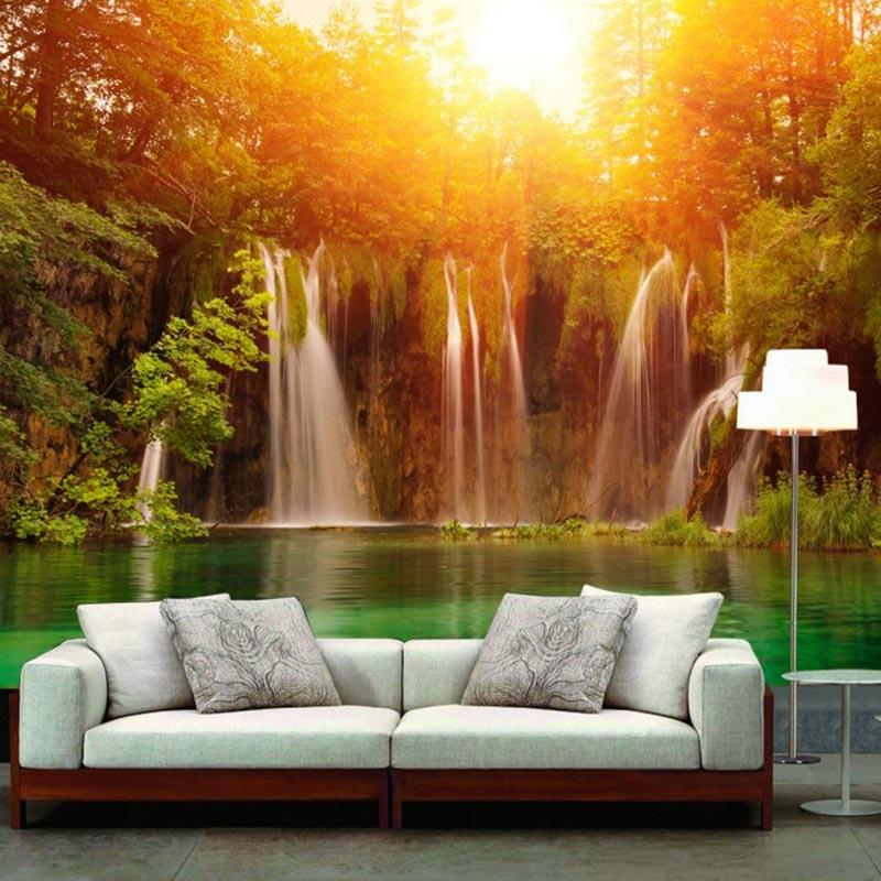 papier peint nature promotion achetez des papier peint nature promotionnels sur. Black Bedroom Furniture Sets. Home Design Ideas