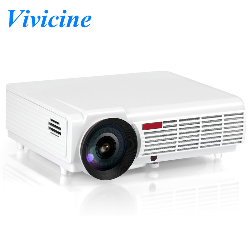 Vivicine LED96 1080p Full HD Portable LED Multimedia Home Theater Multimedia Projector,200W LED Lamp Overhead Proyector Beamer(China (Mainland))