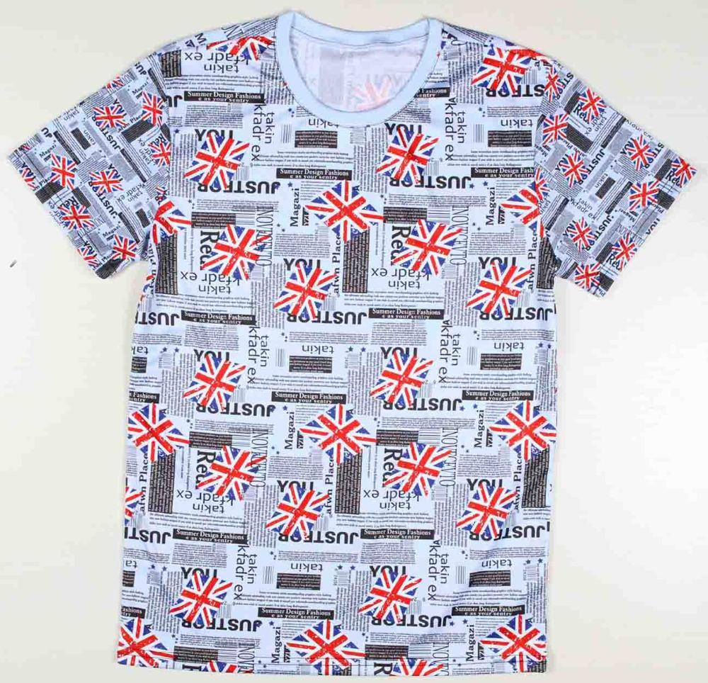 Shirt design cheap - Cotton Mens Cheap Graphic T Shirts The Union Flag Tee Shirt Designs Short Sleeve China