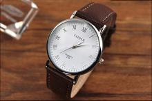 Mance New Luxury Leather Strap Fashion Casual Round Dial Men Quartz Watches Relojes Male Relogio Masculino