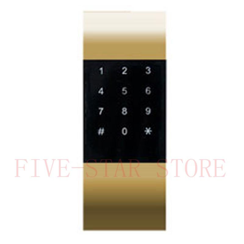 Hotsale ABS plastic gold keyless detachable password keypad cabinet door lock electronic password cabinet sauna locker lock