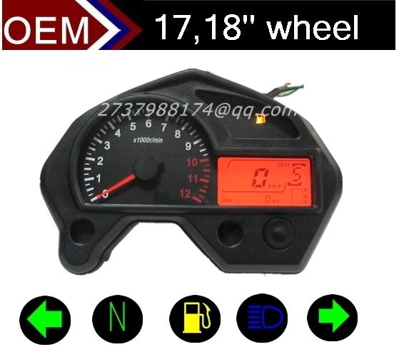 Motorbike speedometer speed meter motorcycle parts(China (Mainland))