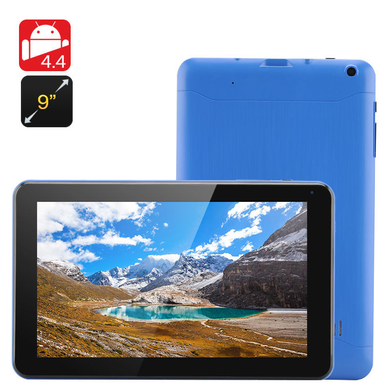 New Cheapest 9 inch Tablet PC Allwinner A33 Quad Core CPU 8GB ROM Bluetooth Android 4.4 Google Play Skype +Gift(China (Mainland))