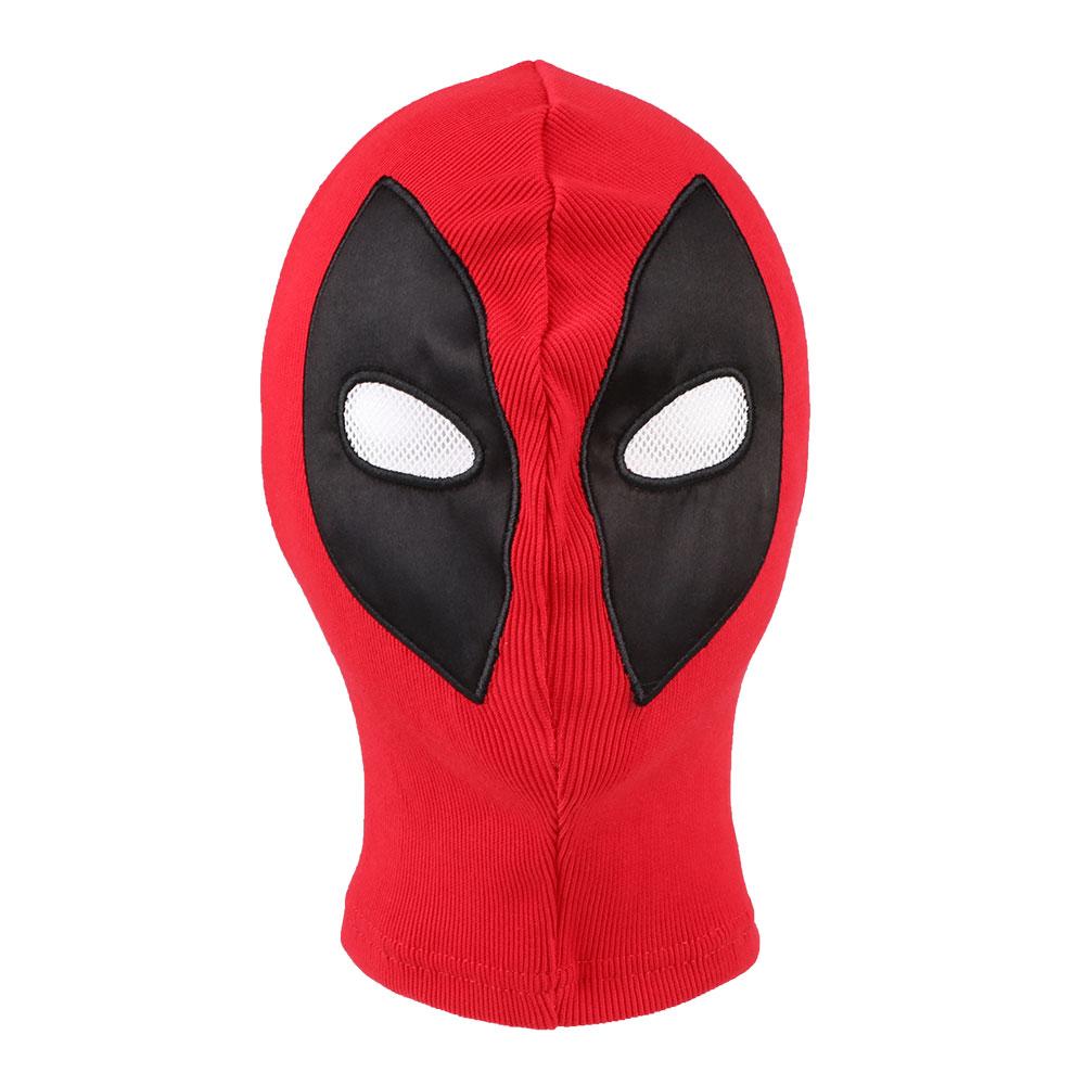 Cosplay Mask Deadpool X-Men Leather Costume Halloween Party Tools Hood Mask