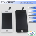 White Black LCD Display With Touch Screen Digitizer For iPhone 5S LCD Assembly Replacement Free Shipping