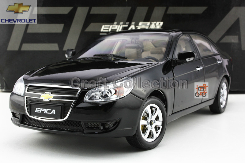 Black 1:18 GM Chevrolet EPICA 2010 Out of Print Diecast model Car Alloy Collectable Diecast Model Cars Slot Cars Hobby(China (Mainland))