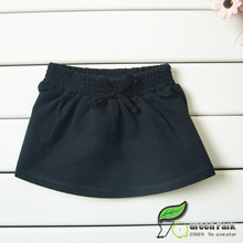 2015 100%cotton Fashion Knee-Length solid baby skirt or  Princess skirt(China (Mainland))