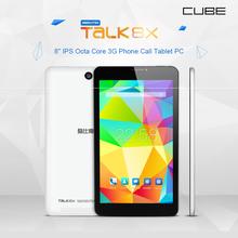 Cube Talk 8x 3G octa core tablet pc 1GB+8GB 8 inch IPS 3G phone call 1280X800 IPS Dual Camera(China (Mainland))