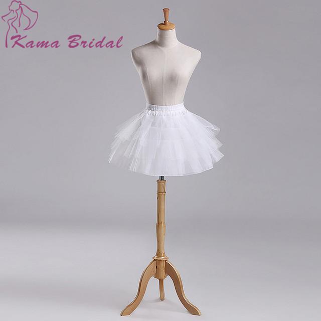 Кама BRIDAL 2015 белый Pauffy короткие юбки балет без костей нижняя юбка для платья ...