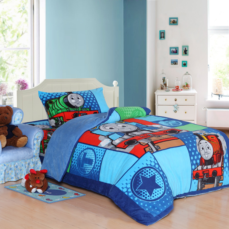 Thomas Train Bed Set Twin