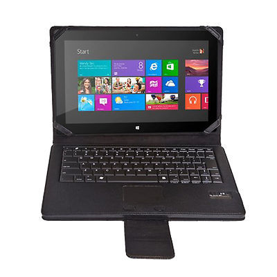 Removable Wireless Bluetooth Keyboard with Stand Portfolio Flip case For Microsoft Surface RT / Pro 2 Windows 8 Tablet PC(Hong Kong)