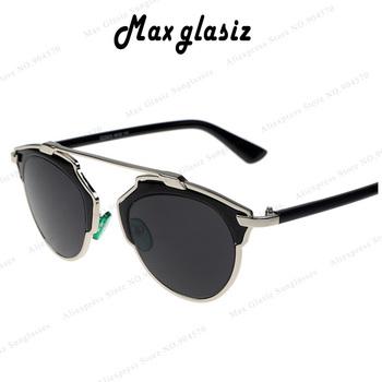 2015 New Luxury Brand SO REAL So SURREAL Sunglasses Women Vintage Retro Designer Fashion Sunglass Men Retro Sun Glasses