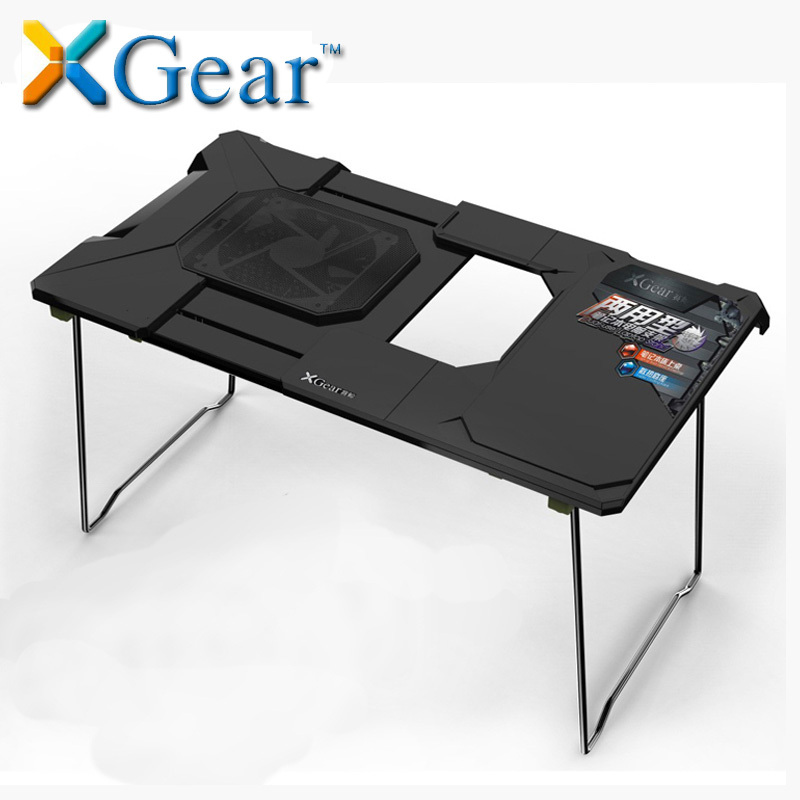 Brand Laptop Cooling Base Portable Folding Computer Desk With A Large Cooling Fan Deluxe Bed