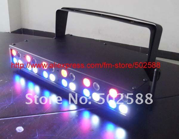 24-1w rgbw battery operated wireless dmx led stage disco matrix wall washer light(China (Mainland))