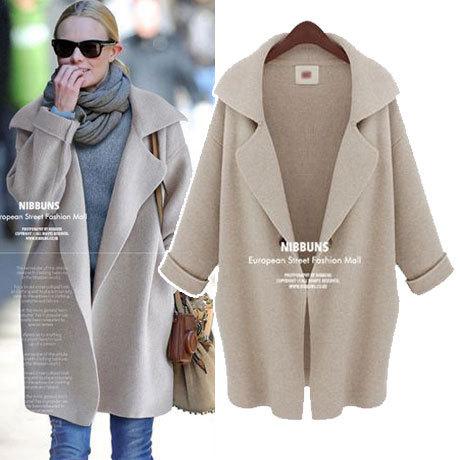 women sweaters 2016 winter/autumn female Long Cardigan Loose Sweater Warm Knit Cardigan Feminino Knitted Slim cost y36(China (Mainland))