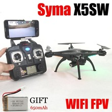 Headfree SYMA X5SW Explorers 2 WIFI R/C Drone FPV Quadcopter with 2 Megapixels HD Camera Real Time Transmission